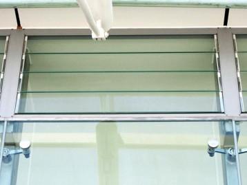 电动百叶窗工程案例